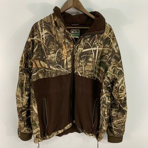 Drake MST Eqwader Camo Full Zip Jacket